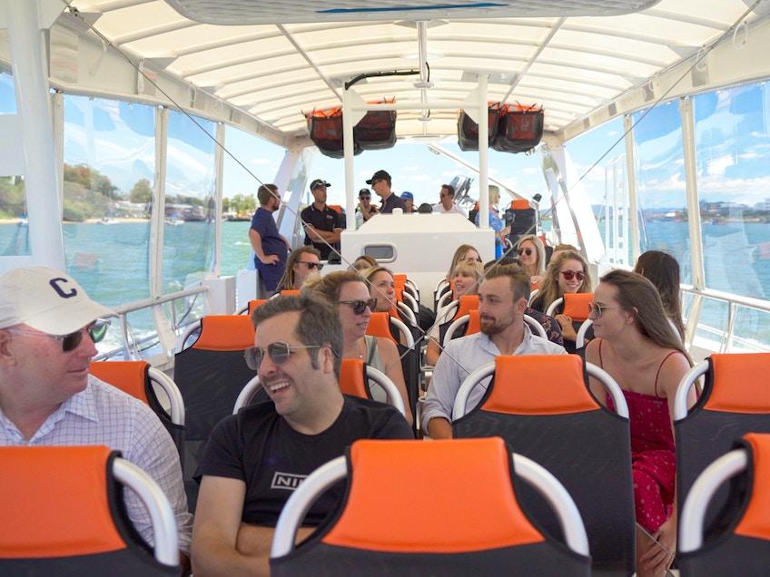 Brisbane boat hire Cobia