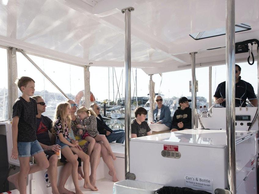 Moreton Bay boat hire Aria