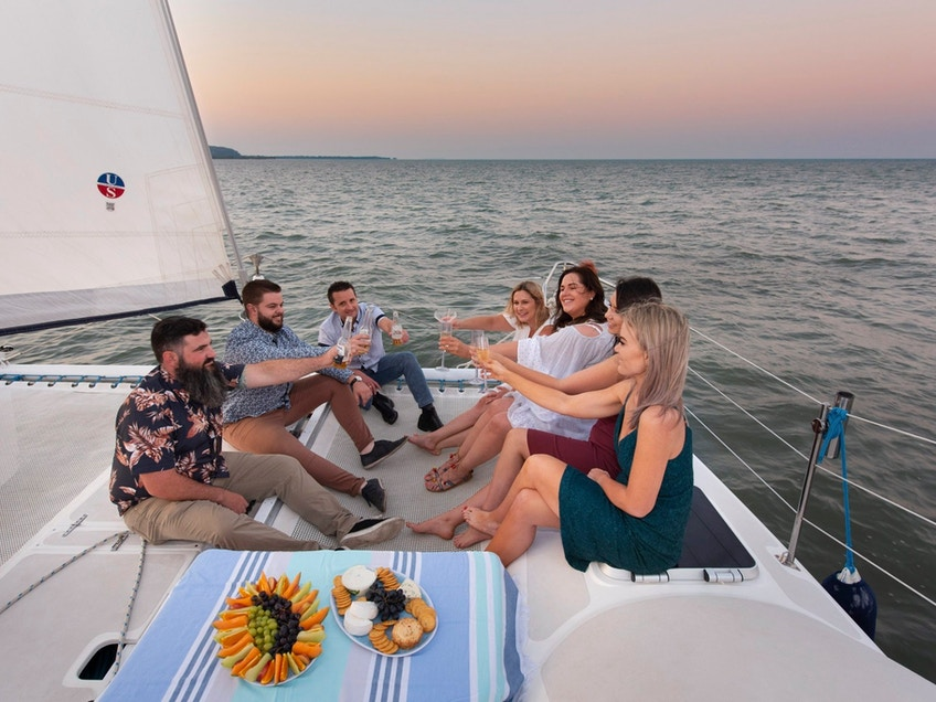 Flotespace boat hire Aria Moreton Bay