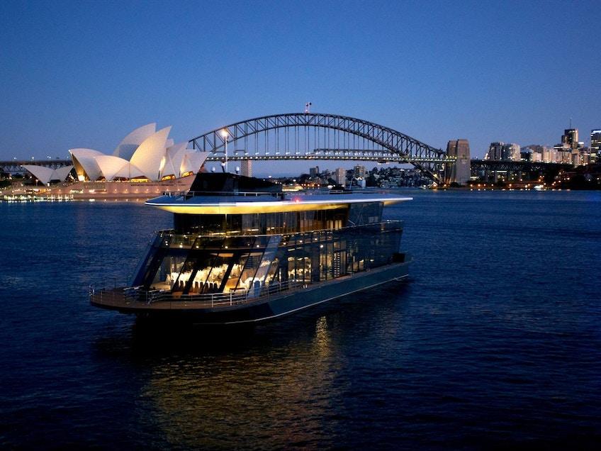 Starship Sydney Harbour
