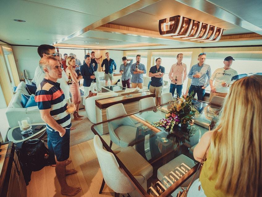 One World Super yacht rental sydney and the whitsundays