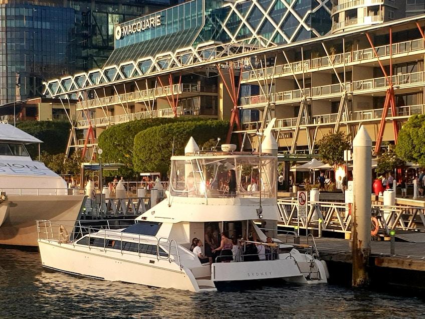 Cloud 9 boat hire Sydney Harbour