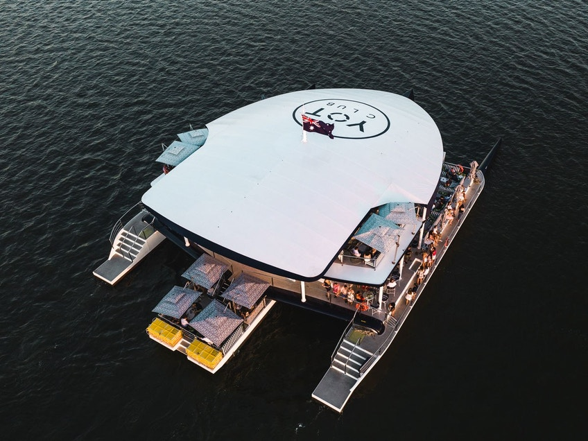 Gold Coast party boat hire YOT Club
