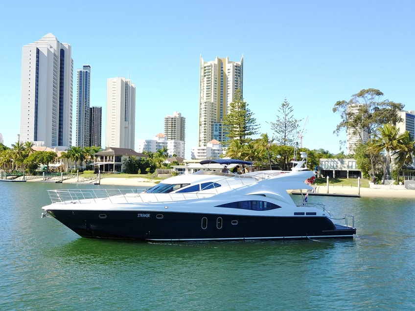Brisbane boat hire MV AKI