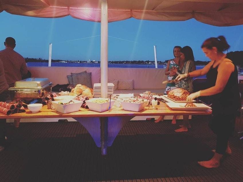 Perth luxury yacht hire Silverado