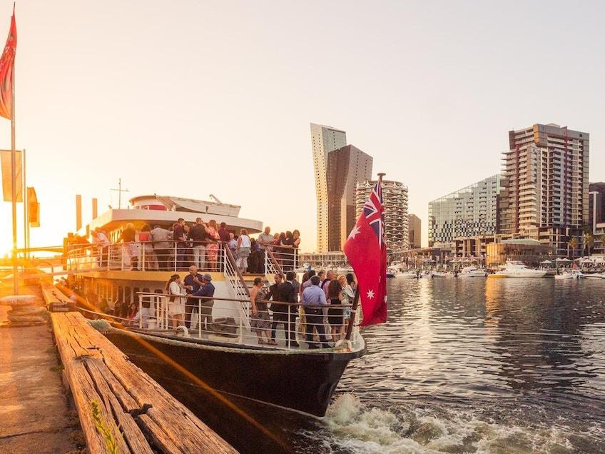 Melbourne boat hire Victoria Star