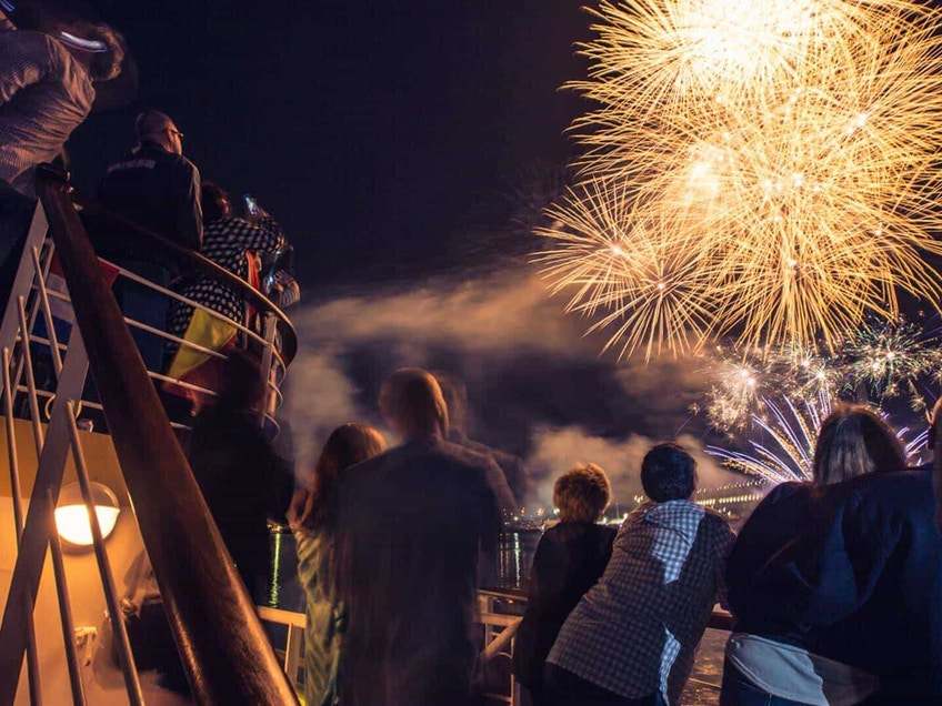 Victoria Star boat hire Melbourne on New Year's Eve