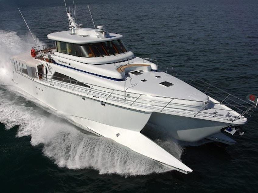 Brisbane luxury boat hire Pure Adrenalin