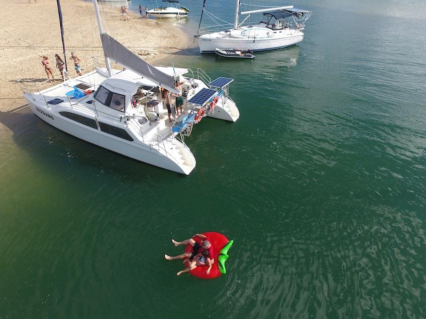 Gold Coast boat hire Serrano