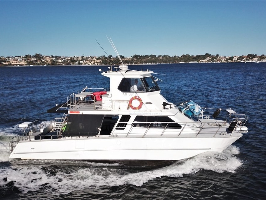 West End party boat hire Perth