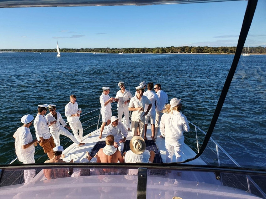 Gold Coast boat hire for parties MV Bacchus