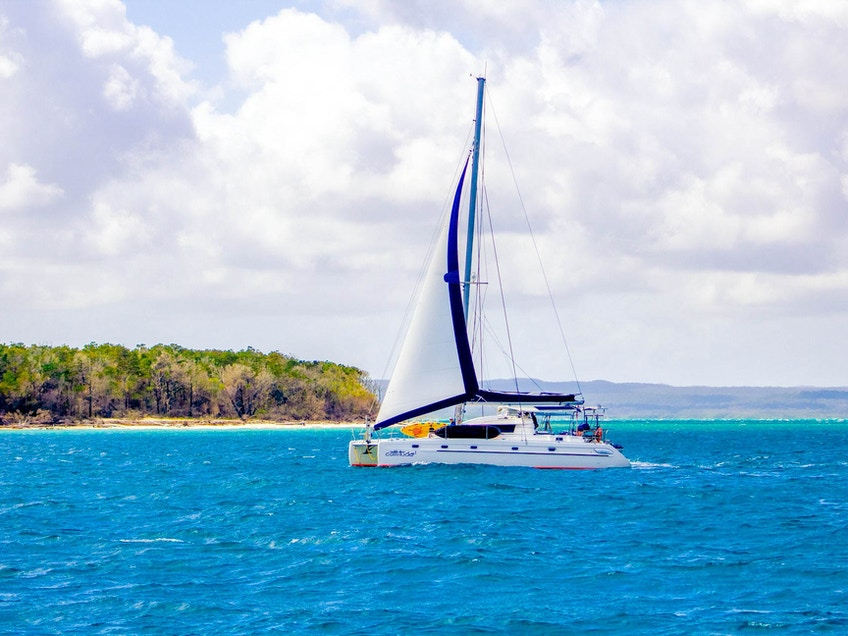 Fraser Island boat hire Cattitude
