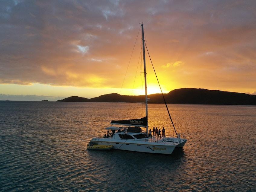 The Whitsundays boat hire