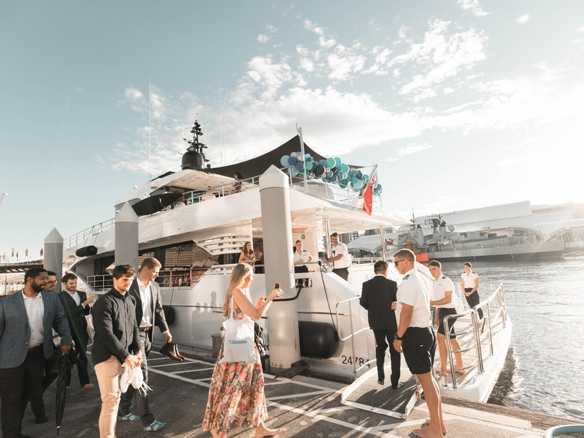 Sydney Harbour luxury yacht hire
