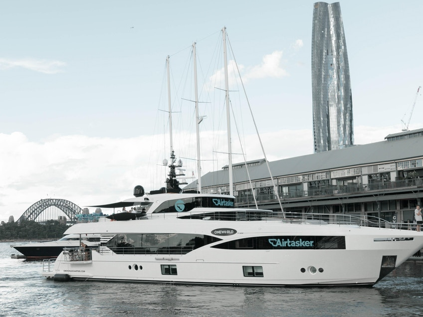 One World Sydney Harbour luxury boat hire for events
