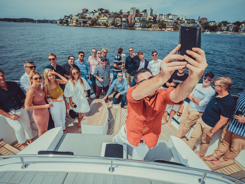 Sydney flotespace boat hire