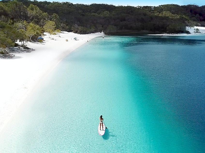 Lake McKenzie, Tourism and Events Queensland